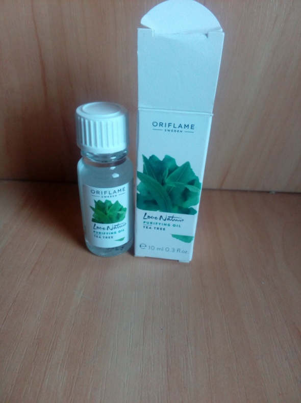 Twarz Olejek herbaciany