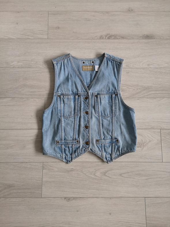 Kamizelka jeansowa S M basic must have