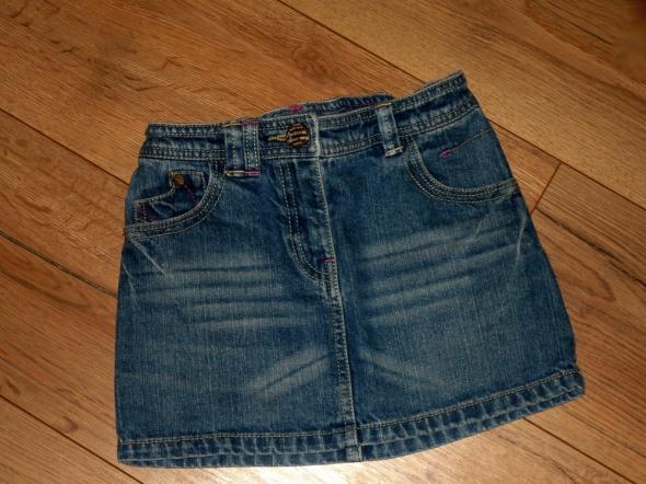 rozm 110 116 NEXT dzinsowa spodniczka mini