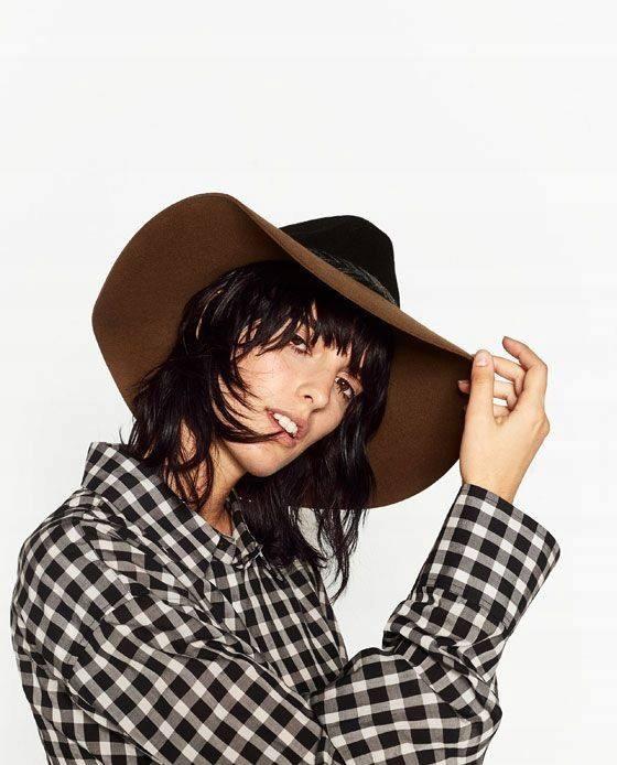 kapelusz nowy z metką