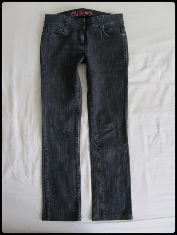 Next spodnie damskie jeansowe proste rozmiar 38 M...