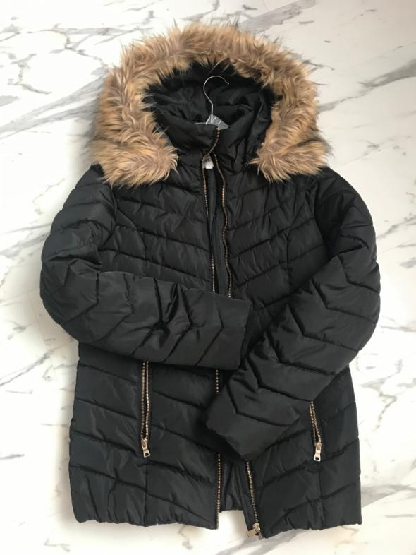 czarna kurtka jesienna zimowa Kappahl S 36 170cm
