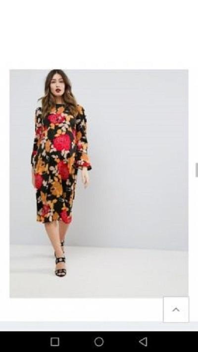 Suknie i sukienki ASOS Sukienka ciazowa slub wesele 48