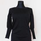 New Look bluzka czarna srebrna 36 38