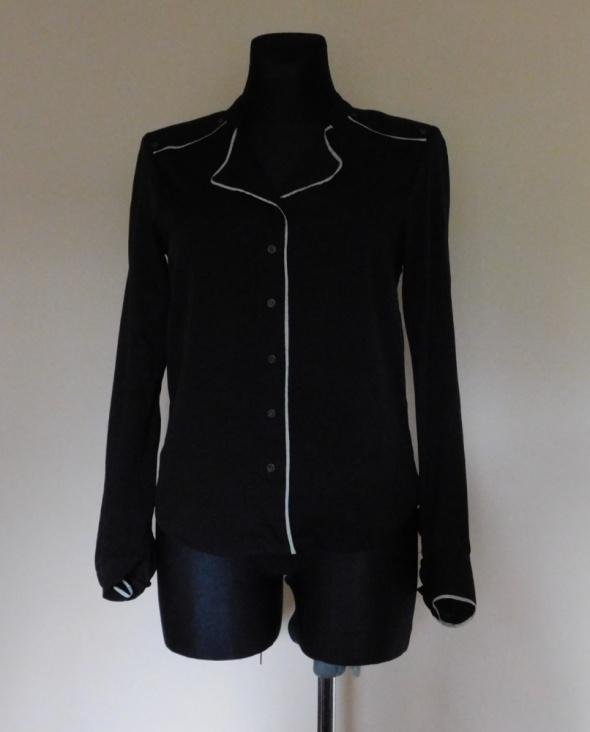 Bluzki Vero Moda czarna bluzka koszula 36