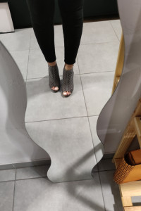 Sandały szpilki grafitowe Monnari 37 38...