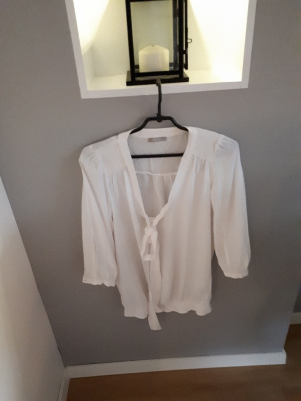 Kremowa bluzka Orsay...