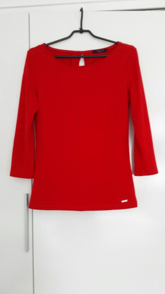 Czerwona bluzka Mohito...