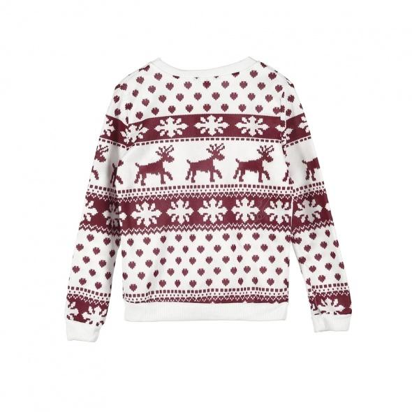 Nowa bluza z metka Świąteczny wzór Rozmiar 38 M...
