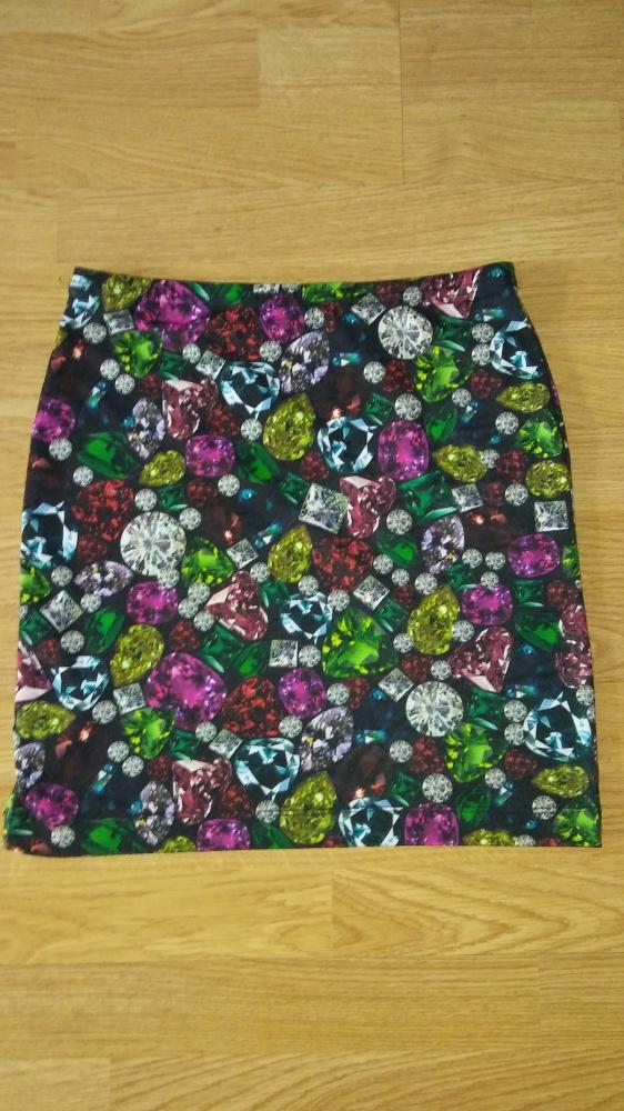 Spódnica kryształy kamienie