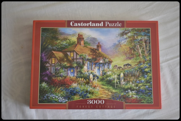 Puzzle Forest Cottage 3000 Castorland