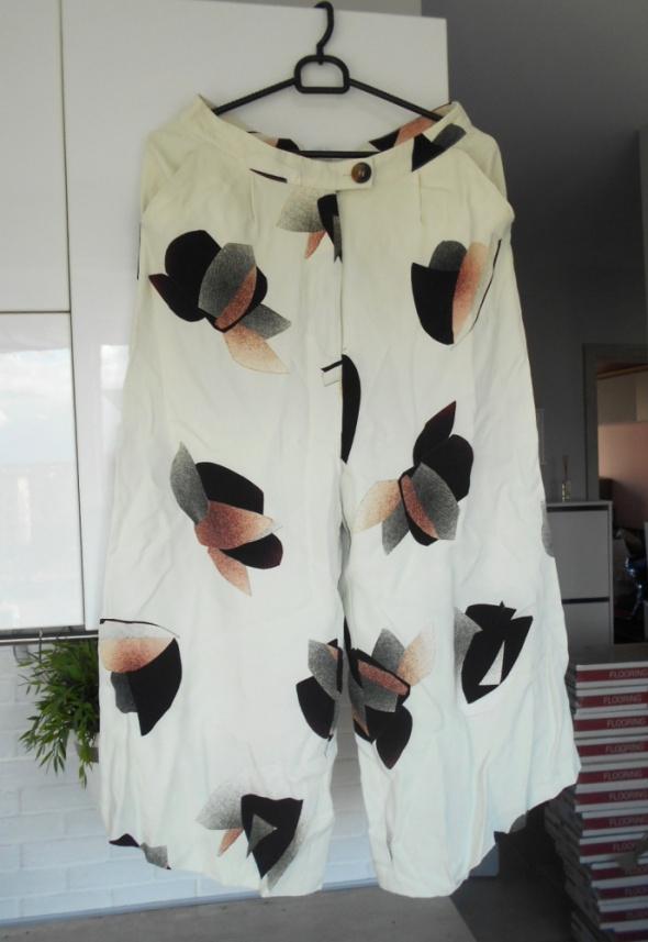 Asos nowe spodnie culotte wzory eleganckie