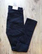 czarne spodnie h&m...