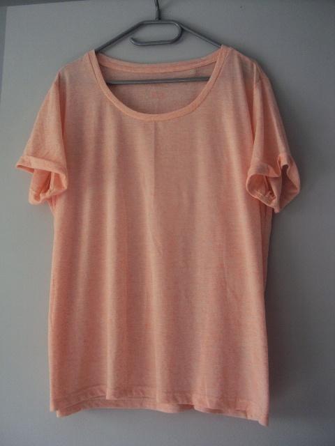 morelowa melanzowa bluzka