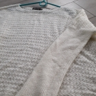 Bezowy sweter oversize rozm z metki M