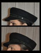 czapka w stylu militarnym bosmanka...