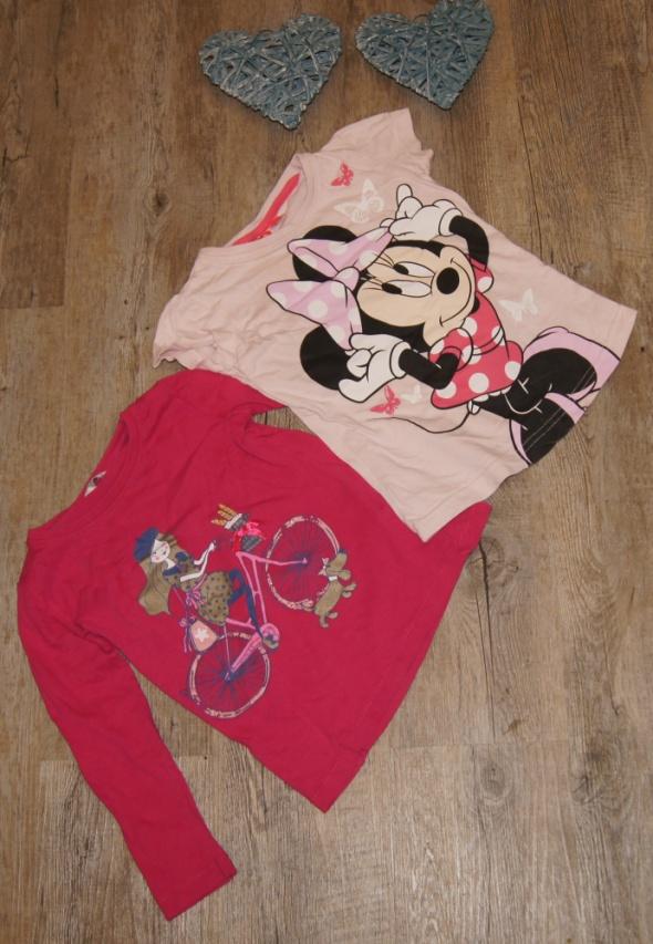 Bluzki Zestaw dziewczynka bluzki Myszka Minnie rozm 98