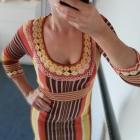 KAREN MILLEN Dzianinowa sukienka
