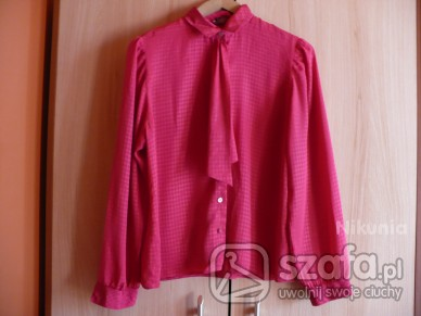 prześliczna różowa bluzka