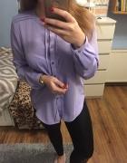 Nowa koszula fiolet L...