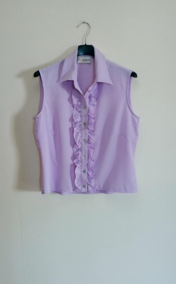 Jasnofioletowa koszula