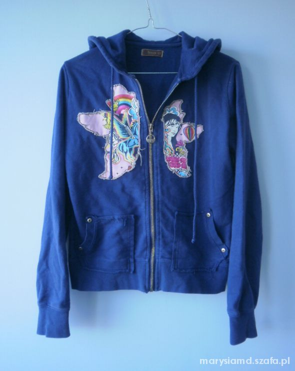 Bluzy bluza Top secret oldschool z kapturem