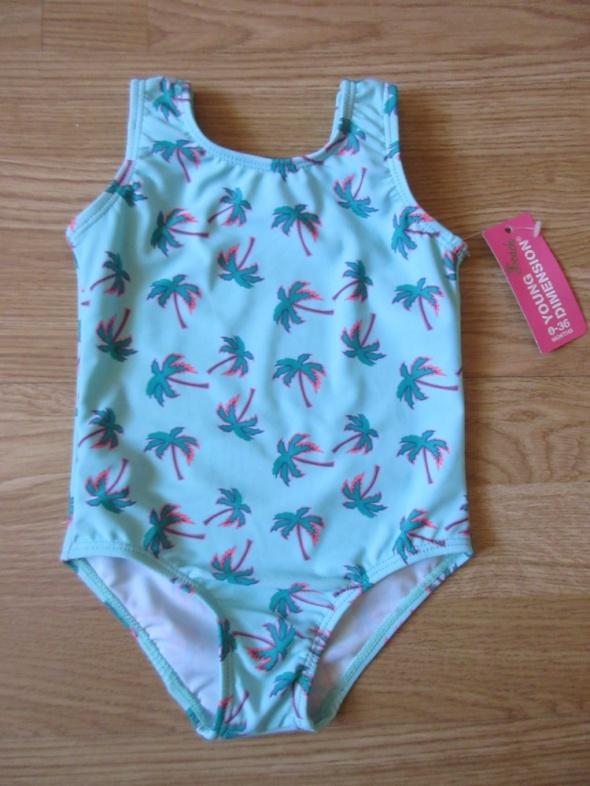 Strój kąpielowy palmy dla dziewczynki 12 do18 mscy