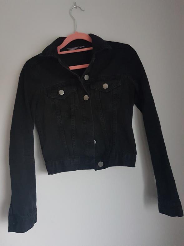 Kurtka jeansowa czarna...