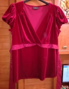 Princyples przepiękna aksamitna bluzka 44...