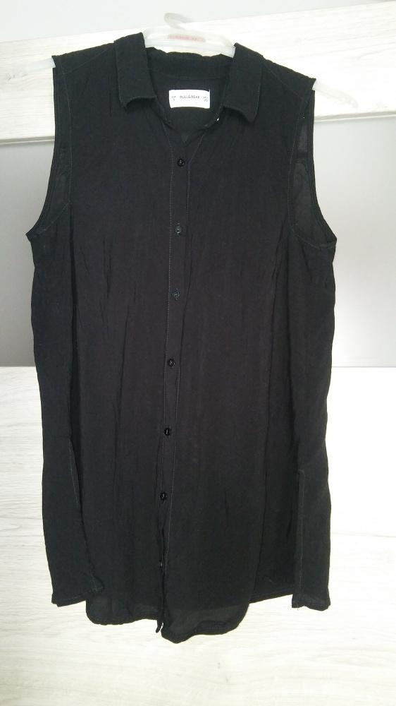 Koszula bez rękawów damska czarna Pull&Bear...