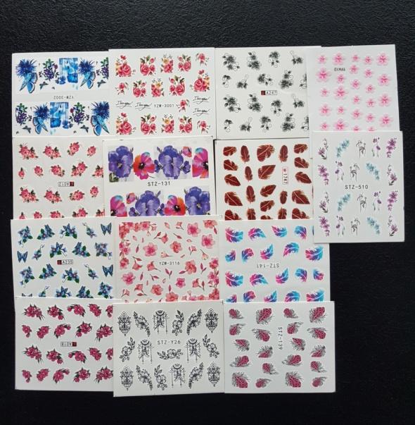 Naklejki na paznokcie 56 kompletów