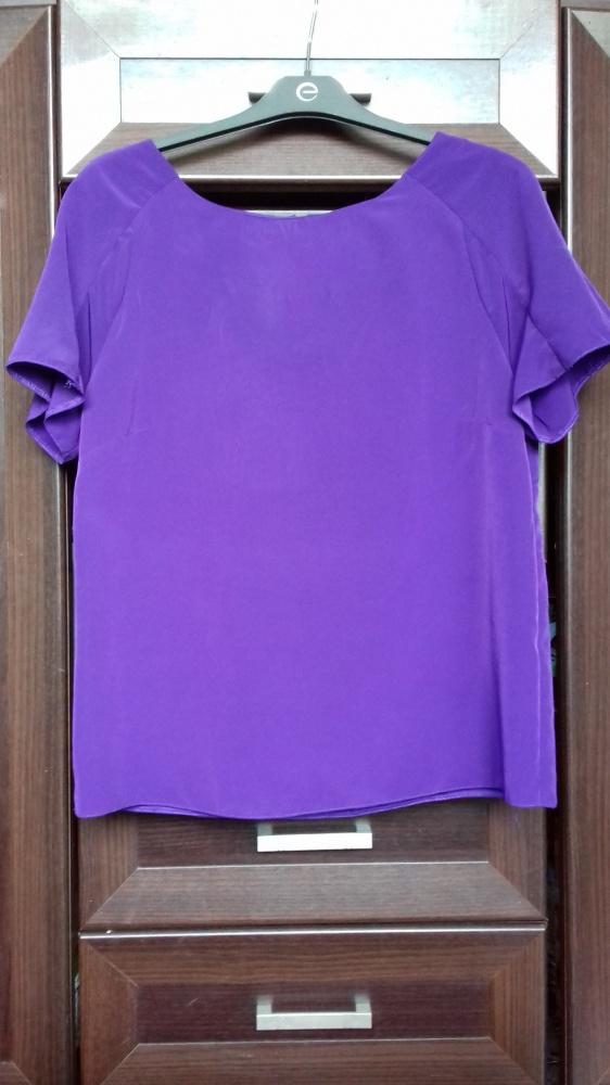 Fioletowa bluzka z suwakiem...