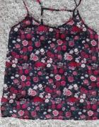 bluzeczka w kwiaty szyfon rozmiar M H&M