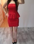 Czerwona sukienka ASOS...