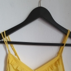 Żółty biustonosz bez usztywniaczy r około 65B