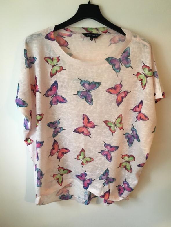 Bluzka w motyle...