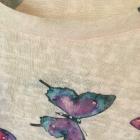 Bluzka w motyle