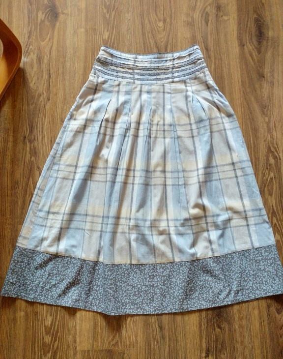 Spódnice Pastelowa długa spódnica Etam M 38