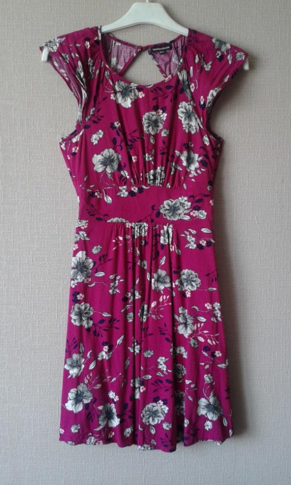 Suknie i sukienki Sukienka w kolorze fuksji