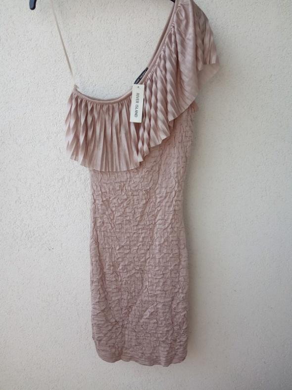 river island nowa sukienka na jedno ramię 32 34 UK 6