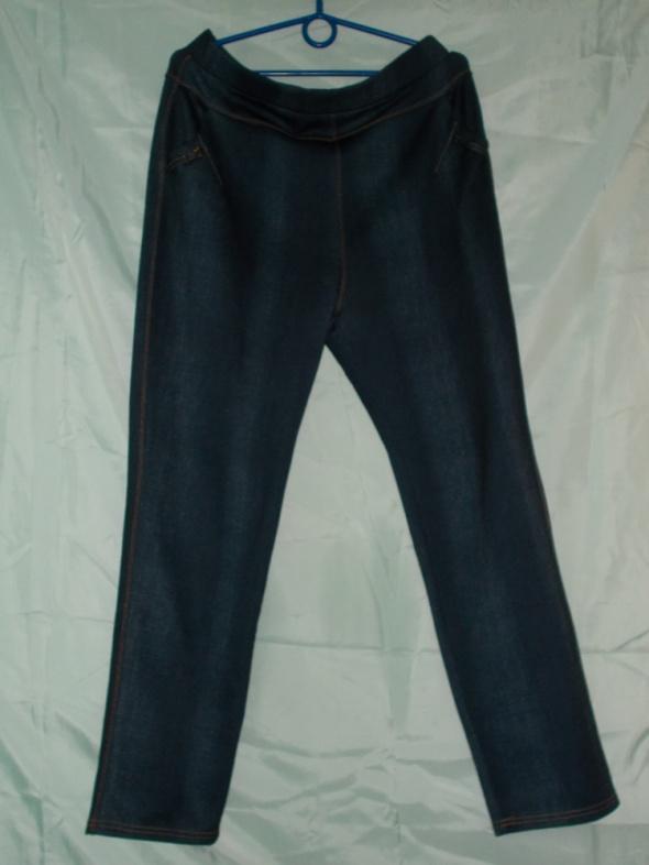 Legginsy dżinsy jeansy 44 46 48