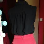 spódnica z falbankami ceglasta HM