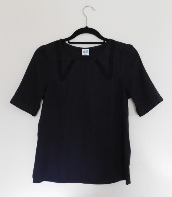 Bluzki Vero Moda czarna bluzka 36