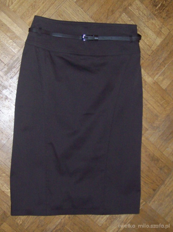 Spódnice piękna nowa czekoladowa spódnica Camaieu