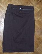 piękna nowa czekoladowa spódnica Camaieu...