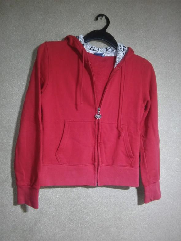 Mickey Mouse Czerwona bluza z kapturem 36