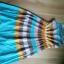 Sukienka Vila plisowany dół 38