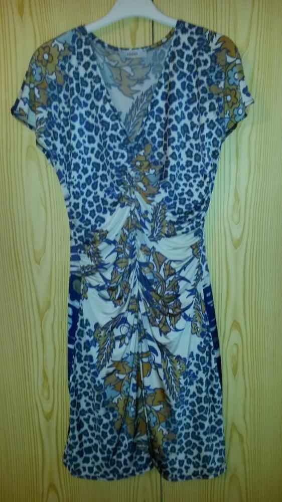 Wzorzysta sukienka Egerie XS S