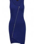 NOWA asymetryczna sukienka zip 36