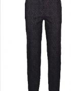 Nowe eleganckie spodnie żakardowe 36 38